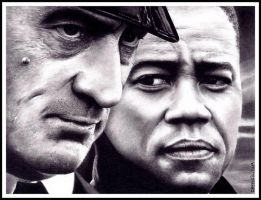 Robert DeNiro and Cuba Gooding Jr. by Doctor-Pencil