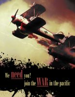 War in the Pacific propaganda by McTwist