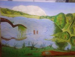 Landscape Painting by tattoo-parlour
