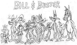 Bill and Buster 'Family' by MatthewHunter