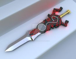 Zelda Twilight Princess Sword by iAkumu