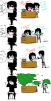 Jeff The Killer and Laughing Jack-Comic #3. by MikaelBratLoni