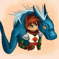 Dragon Knight WildHao Collab by wolfen