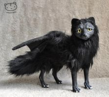 BLACK BAT-FOX- Halloween special edition by LisaToms