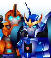 Strongarm and Fixit by Lokatah