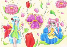 Contest Entry - Magical Spring by Happy-Nyan