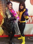 Blink and Kitty Pryde by damphyr