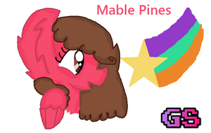 Mable Pines by GamingStarLuigiSin
