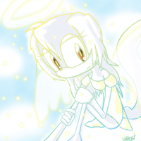 Nikki the Angel by MaybeKaybe