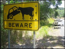 Cow-Eat-Car World by Monkey-Trumpets