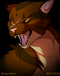 Tigerstar's Immortal (+ Speedpaint!) by DrakynWyrm
