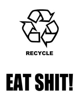 recycle by wrongsideout