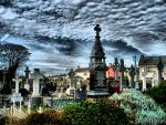Tramore Church Graveyard by pixierosedragon
