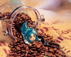 Kanon in Coffee bottle by BX211