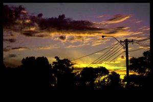 Street Sunset by OnTheRoad