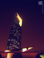 kingdom tower by adnanalsouri