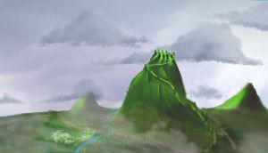 Green Mountains by ineedpractice