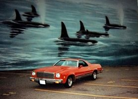 My Old 74 El Camino by Swanee3