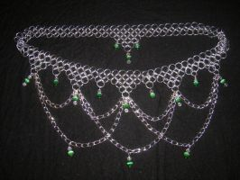 Emerald Dreams circlet by enchantress13