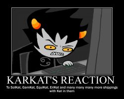 Karkat Vantas Motivational Poster by luckydogfangirl01