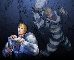 Cody Street Fighter Wallpaper by 1KamZ
