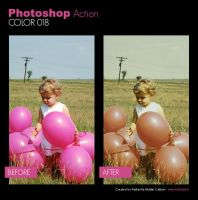 Photoshop Action - Color 018 by primaluce