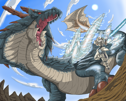 Lord of the sea: Lagiacrus by Nehis