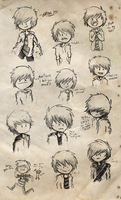 The Many Faces of Eric by sarahowen97