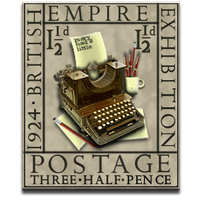 Steampunk Word Processor Icon Microsoft Word MkII by yereverluvinuncleber