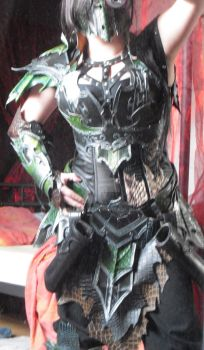 druchii female complete costume (nearly finish) by Deakath