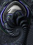 Alien Fractal Vortex by laughingtube