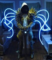 Tyrael with light up wings by SilverIceDragon1
