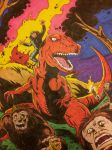 Devil Dinosaur and Moon Boy by dannphillips
