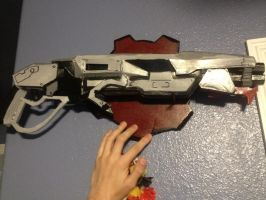 Gears of War Gnasher replica by Romantically-Geeky