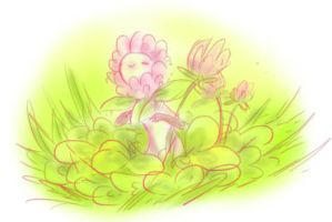 plant girl by juenavei