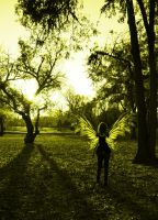 Fairy in the Park by pricegotphoto