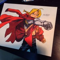 ART Trade: Edward Elric by 22PandaBean-89