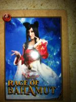 Ahri League of Legends trading Card by spacechocolates