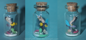 Tiny Discord in a bottle by Blindfaith-boo