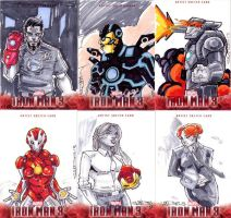 Im3-6 sketch cards by CRISTIAN-SANTOS