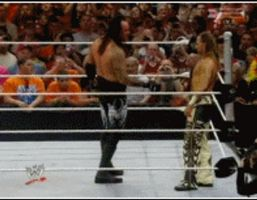 Undertaker shakes HBKs Hand by Paynexkiller