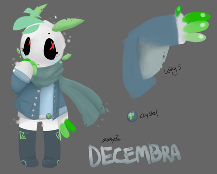Decembra- Crystic Faerie by KeebyZ