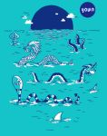 SEA MONSTER PARTY by rockst3ady