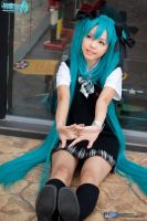 hatsune miku school uniform by angie0-0