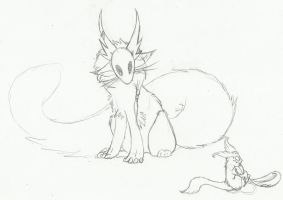 .:Creature sketches:. by LeeOko