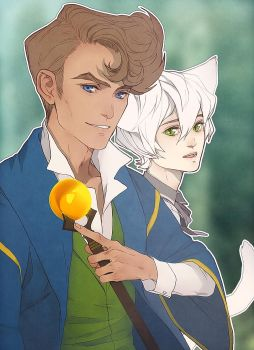 Hugo and Kit by archiaart