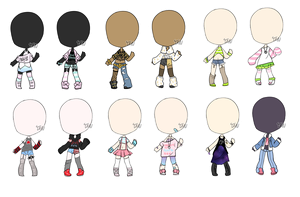 C|| customs outfits by Tenshilove