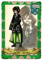 Slytherin House::Akira by RainbowRoosta