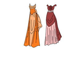 Victorian gowns by Kao-Kuro