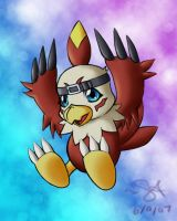 AV 07: Hawkmon by sajcfan